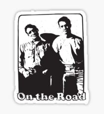 Jack Kerouac On the Road Sticker