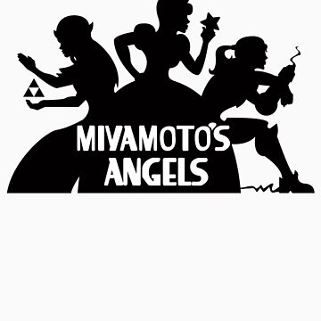 Miyamoto's Angels by JoeAngelillo