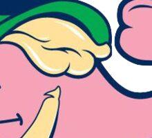 Vineyard Vines Whale Sticker || St. Patrick's Day Leprechaun  Sticker