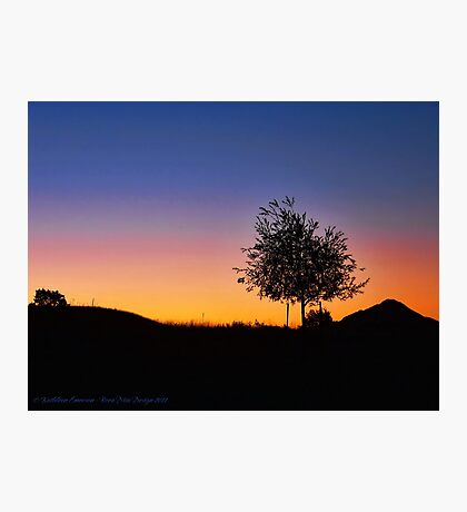 Smoky Sunrise Photographic Print