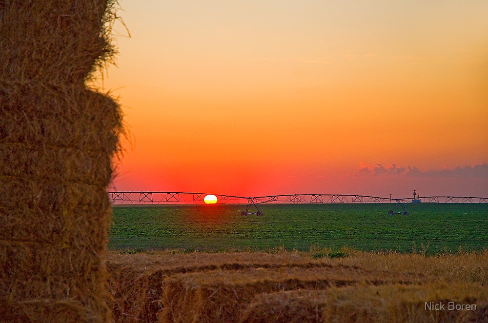 Magic Valley Sunset by Nick Boren