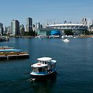 Vancouver Harbour, a View by MaluC