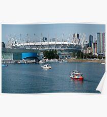 BC Place Sports Venue Poster
