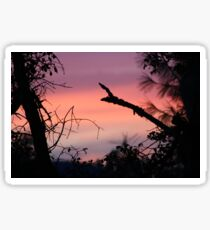 Sunrise taken at Collins Lake  9-27-2015 Sticker