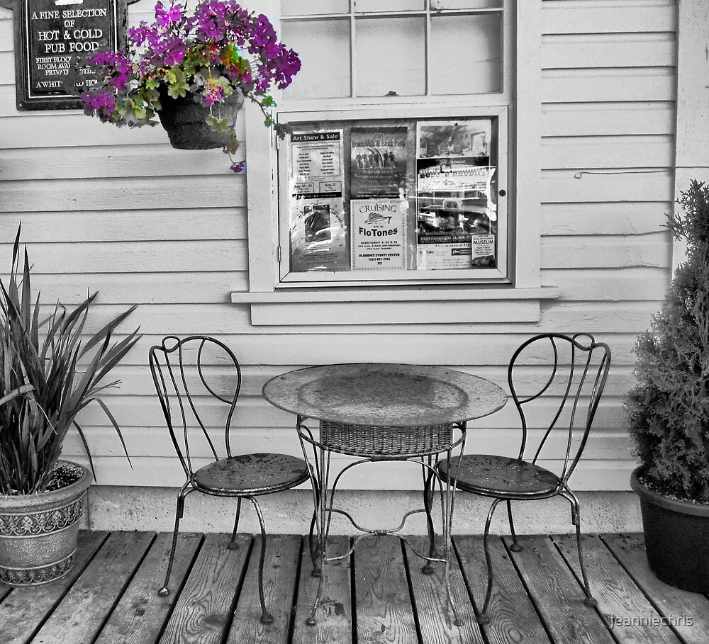 Sit awhile by jeanniechris