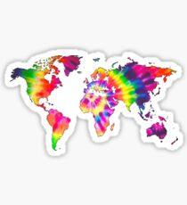 Tye Dye World  Sticker