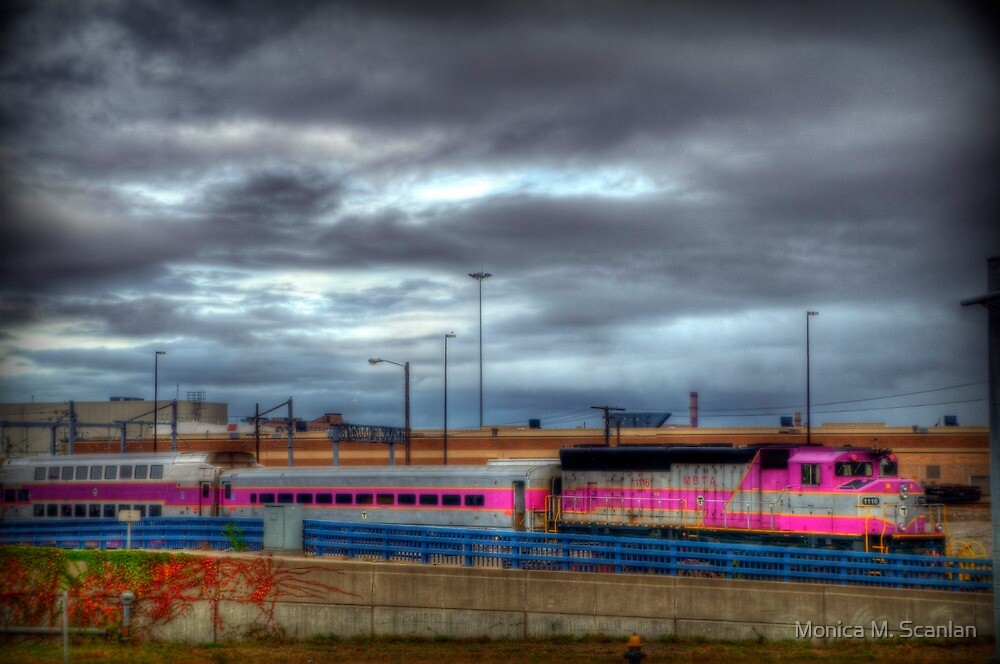 Leaving South Station by Monica M. Scanlan