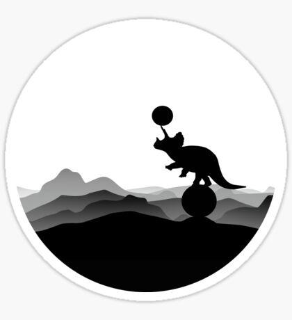 DINO CIRCUS - DINOSAUR AT THE CIRCUS - Dino collection Sticker