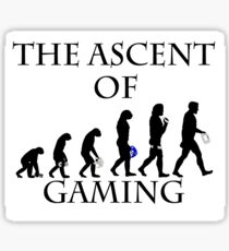 The Ascent of Gaming Sticker