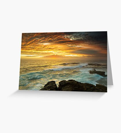 The Platform - Long Bay Greeting Card