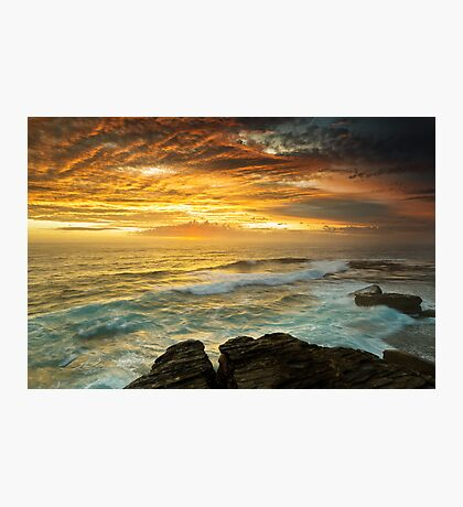 The Platform - Long Bay Photographic Print
