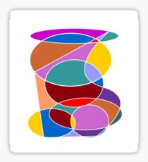Abstract #24 Sticker