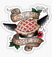 Pie/Angel Flash Tattoo Sticker