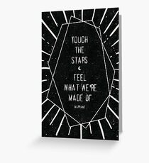 Touch the Stars Greeting Card