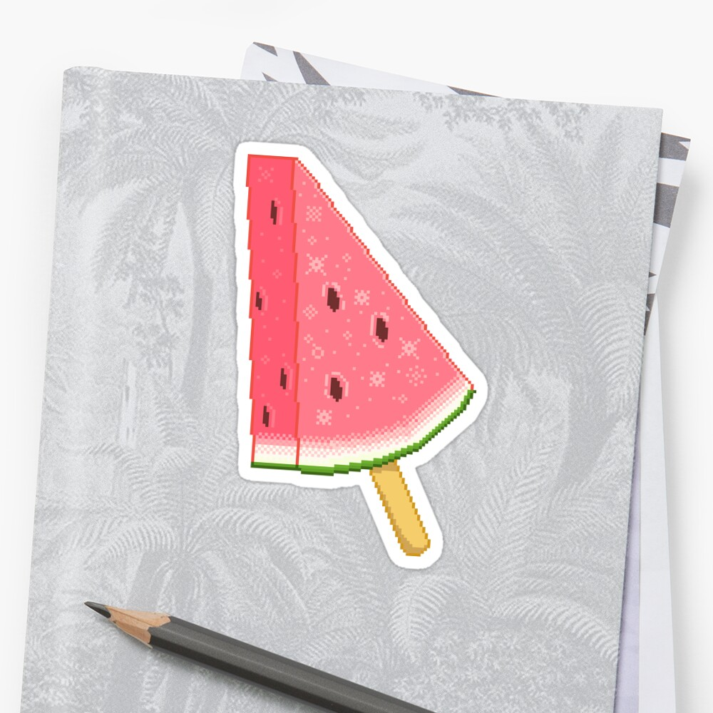 Watermelon Ice Lolly (Sweets Series) by milkytart