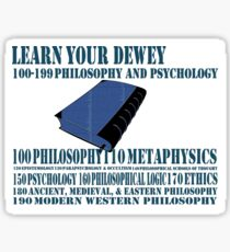 Learn your Dewey 100 Sticker