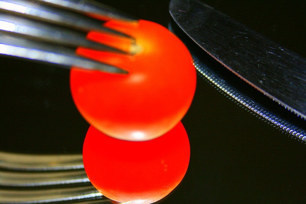 Bright tomato by Nigel Butfield