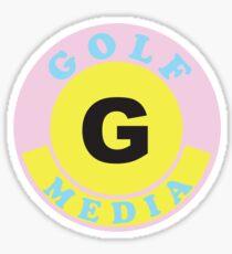 GOLF MEDIA WORLDWIDE Sticker