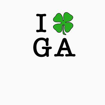 I (Club) GA (black letters) by iClub