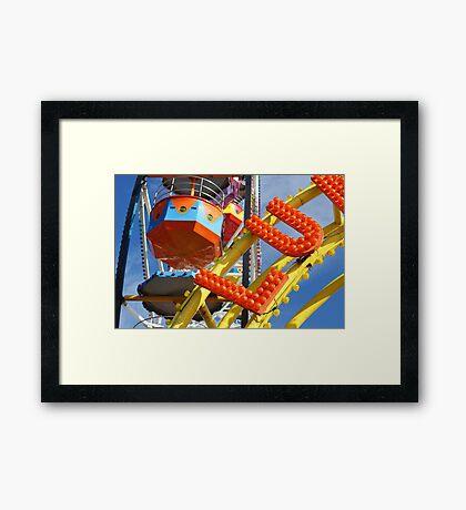 Luna Park Scarborough (UK) Framed Print