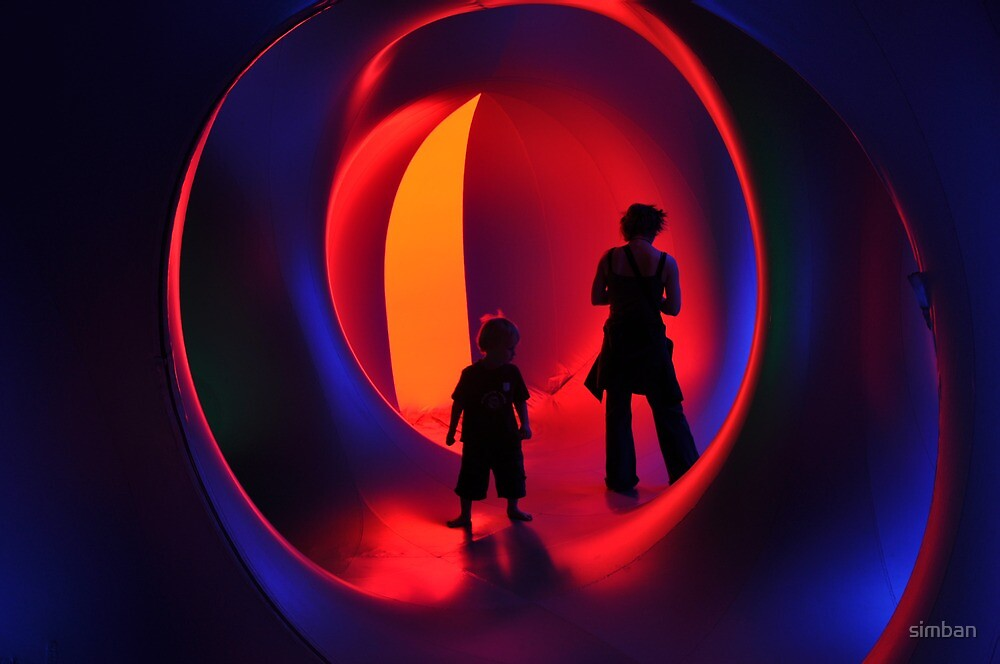 Stand-off at the Luminarium by simban