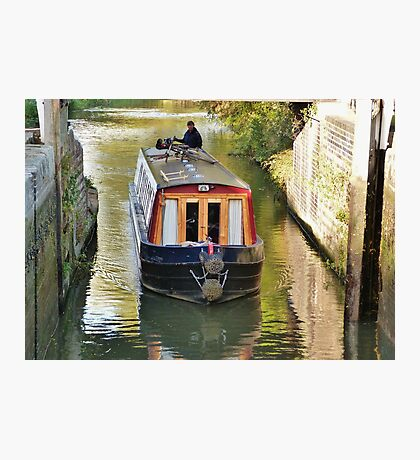 Gringley Lower Lock Gate Photographic Print