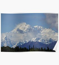 Mt McKinley, Alaska Poster