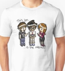 This Jen is the internet- IT Crowd T-Shirt