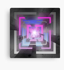 Retro Squares Canvas Print