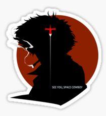 Cowboy Bebop See you, space cowboy Sticker