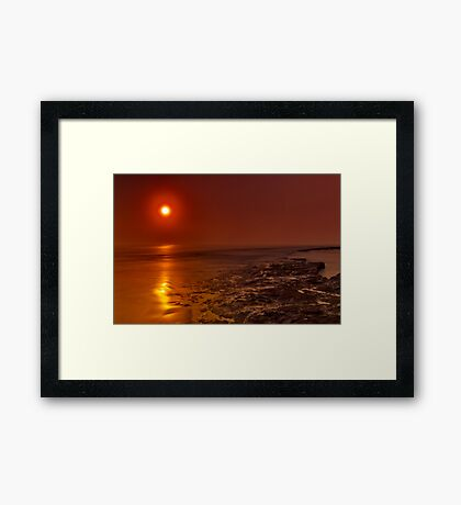 """Caramel Dawning"" Framed Print"