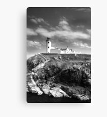 Fanad Head Lighthouse In Donegal, Ireland Canvas Print
