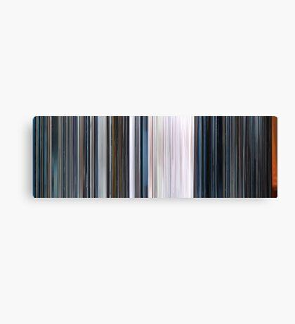 Moviebarcode: THX 1138 (1971) Canvas Print