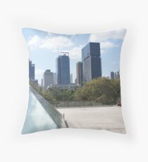 Brisbane from the QLD Gallery Throw Pillow