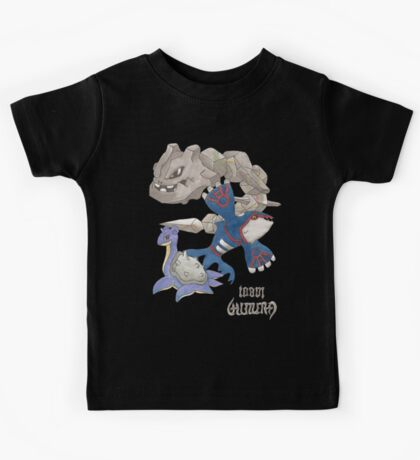 Becci's Kyogre, Lapras and Steelix Kids Clothes