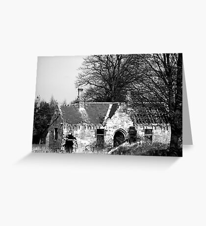 Derilict Chapel Greeting Card