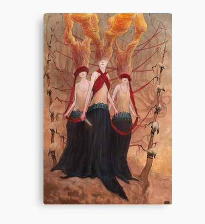 The Seamstress and the Abductions   Canvas Print