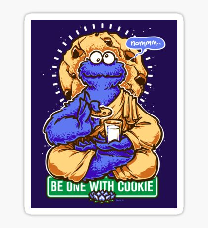 One With Cookie Sticker