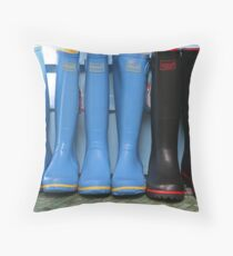 Wellingtons for sale Throw Pillow