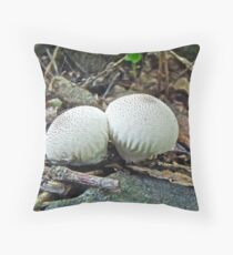 Huff and Puff Twins Throw Pillow