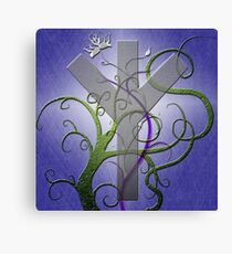 Algiz Rune from the Elder Futhark Canvas Print
