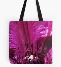 Clematis Crown Tote Bag