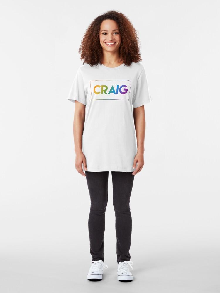 Alternate view of Craig - Pride Edition Slim Fit T-Shirt