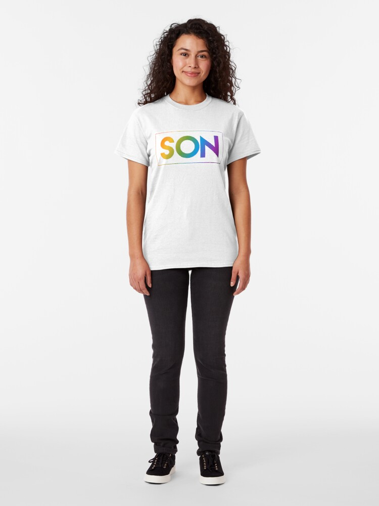 Alternate view of Son - Pride Edition Classic T-Shirt