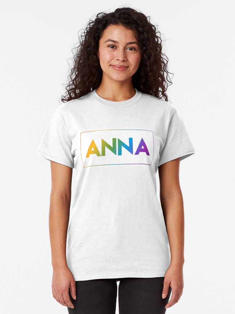 Alternate view of Anna - Pride Edition Classic T-Shirt