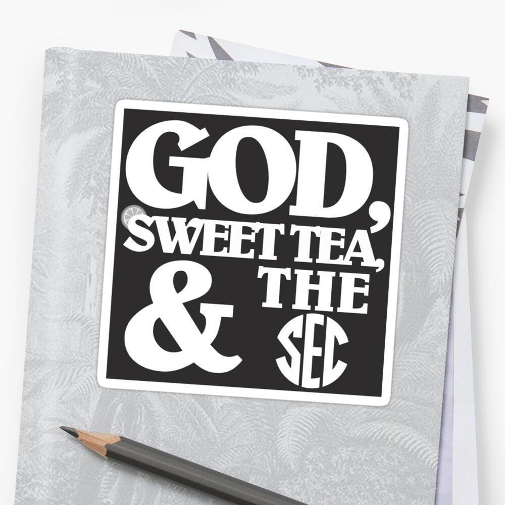 God, Sweet Tea, and the SEC by Davis Luna
