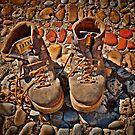 Old Mountain Boots by jean-louis bouzou