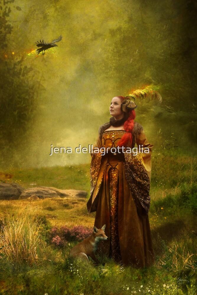 Lady Stark [winter is coming] by jena dellagrottaglia