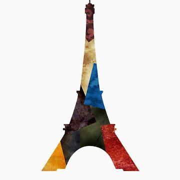 Eiffel Scraps - Eiffel Tower ScrapBook by RenJean