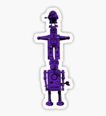 Robot Totem - BiLevel Purple Sticker